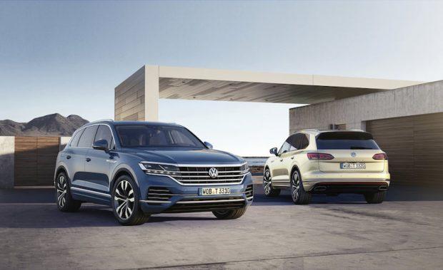 Yeni Volkswagen Touareg'eEuro NCAP'ten Beş Yıldız