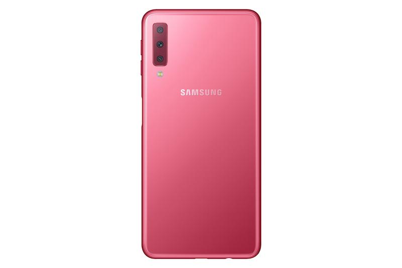 Samsung, Üç Arka Kameralı Galaxy A7 2018'i Duyurdu, Ekim'de Satışta!