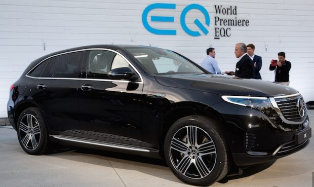 Mercedes EQC electric SUV