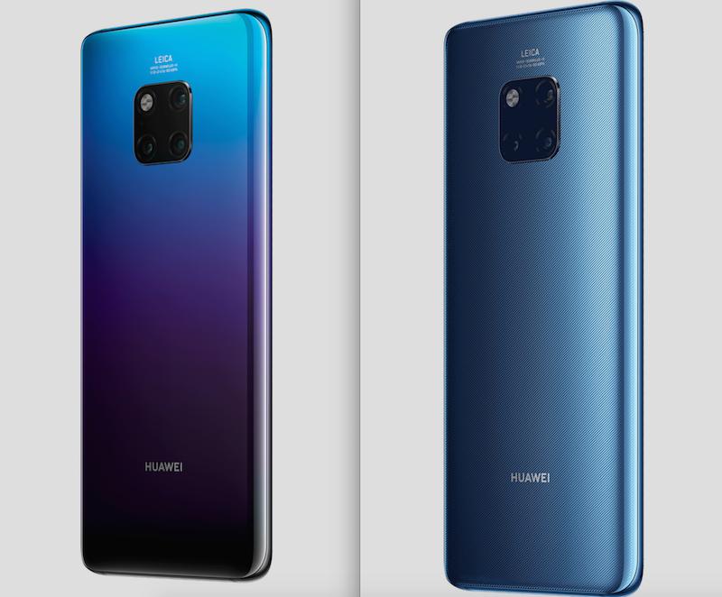 Huawei Mate 20 Serisini Duyurdu, Kirin 980 ve 7nm Yapay Zeka Destekli