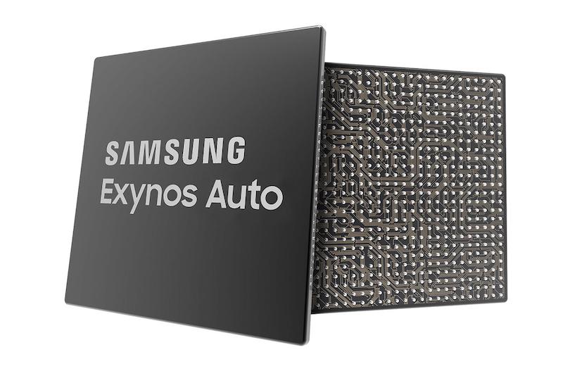 Samsung Exynos Auto, Bağlı Otomobiller için Tasarlandı