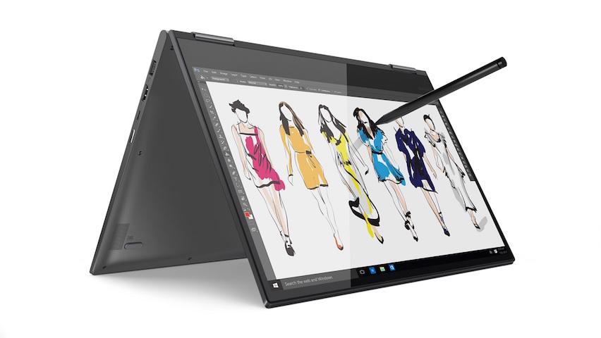 Lenovo Yoga 730, Aktif Kalemi, Hızlı Şarj Özelliği ve Uzun Pil Ömrü