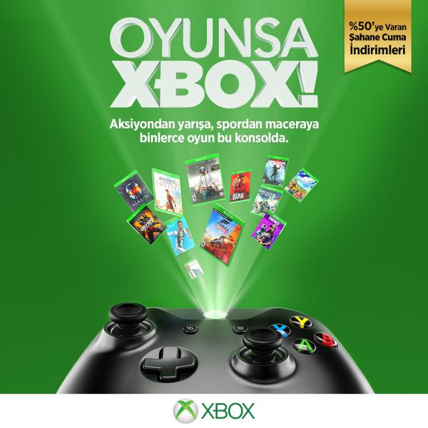 Büyük Xbox indirimleri MediaMarkt'ta, Xbox Dijital Mağazasında oyun severleri bekliyor.
