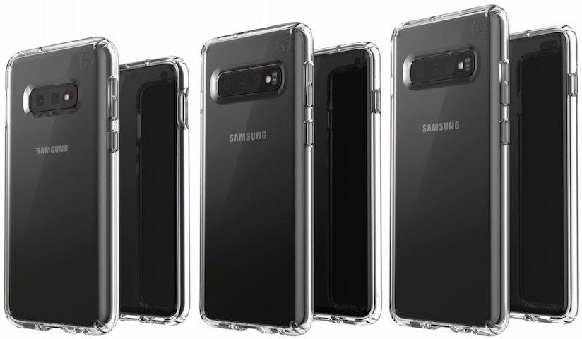 Samsung Galaxy S10 Serisi Sızdı, S10E, S10 ve S10+ Böyle Görünüyor