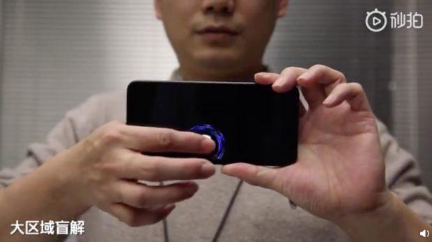 Xiaomi'nin Yeni Ekran içi Parmak izi Sensörleri