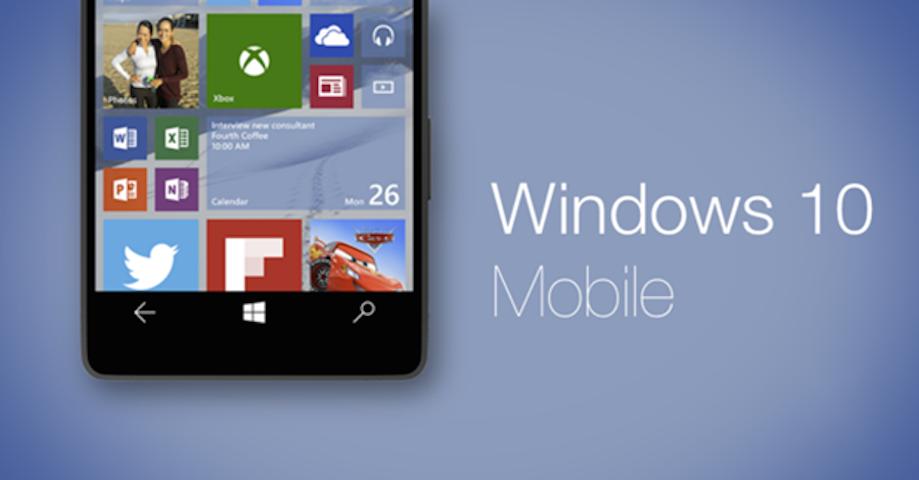 Microsoft Windows 10 Mobile Desteğini Sonlandırıyor
