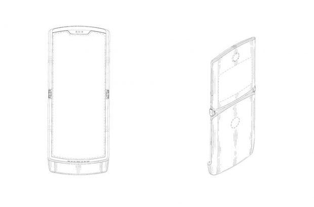 Motorola'nın Katlanabilir Telefon Patenti, RAZR Benzerliği Dikkat Çekici