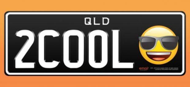 Emojili Araç Plakaları Avustralya'da Kullanılmaya Başlandı