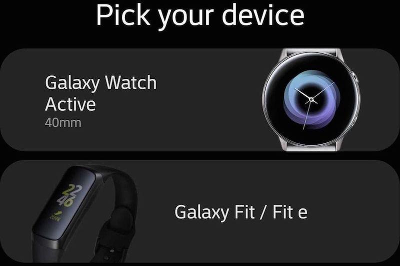 Samsung'un Yeni Giyilebilir Ürünleri Yanlışlıkla Ortaya Çıktı
