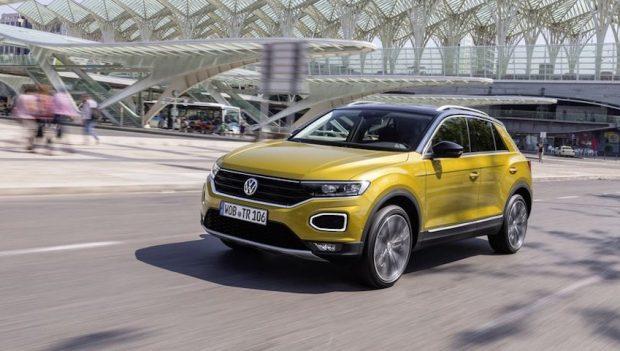Volkswagen'in Yeni Kompakt SUV Modeli T-Roc Satışa Çıktı