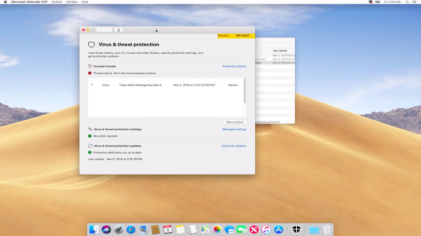 MAC için Microsoft Defender, Defender Windows'tan MAC'e Atladı!