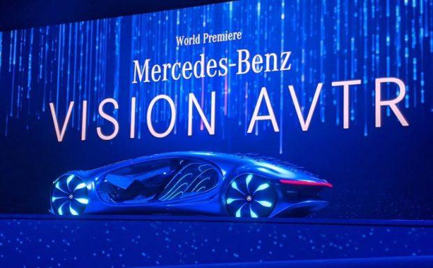 Avatar'dan ilham alınan araba