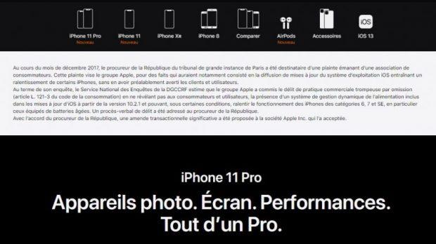 Apple'a Fransa'dan telefonları yavaşlattığı için 25 Milyon Avro Ceza