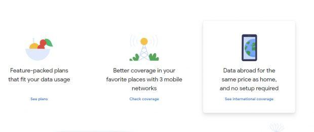 iPhone'daki eSIM'i kullanarak Google Fi