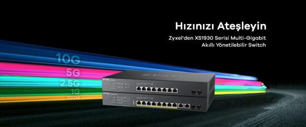 Zyxel Xs1930 Serisi Yeni Multi-Gigabit WiFi 6 Destekli Switch