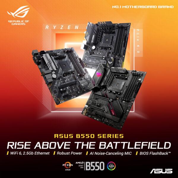 yepyeni ROG Strix, TUF Gaming ve Prime anakartlar, PCIe 4.0 teknolojisini herkesin kullanımına sunuyor.