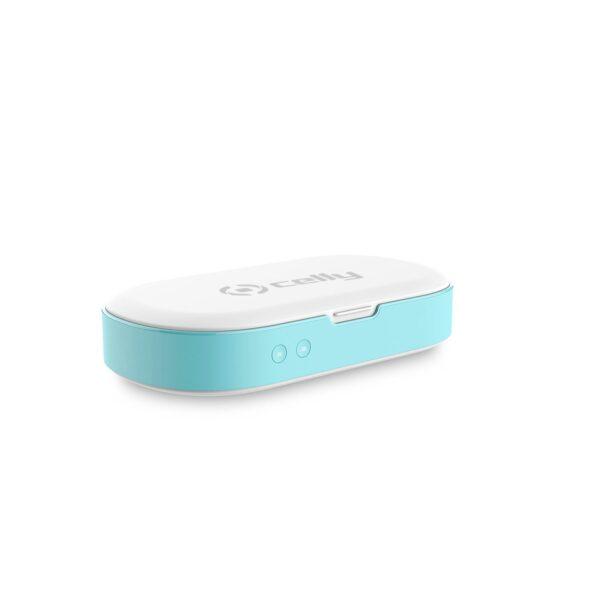 kompakt tasarımıyla çantada kolayca taşınabiliyor ve Micro USB bağlantısı ile şarj edilebiliyor.
