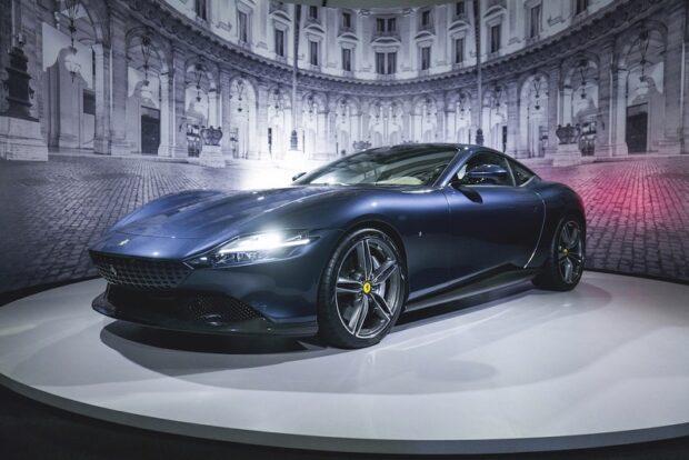 3 milyon 981 bin TL'lik Ferrari Roma Türkiye'ye gelmeden satıldı