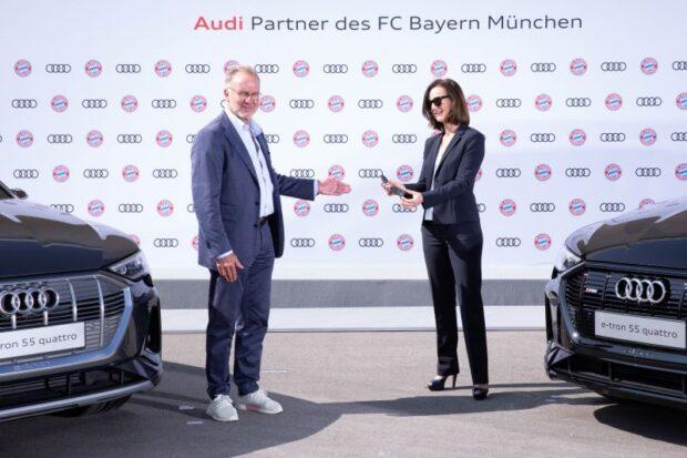 Bayern Münih dünyada elektrikli otomobil kullanan ilk futbol takımı oldu