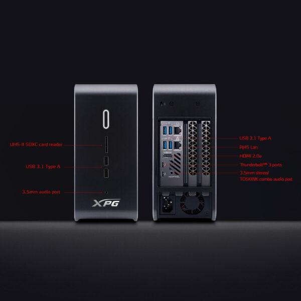 XPG GAIA Mini Gaming PC