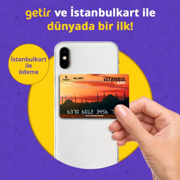 Getir İstanbulkart