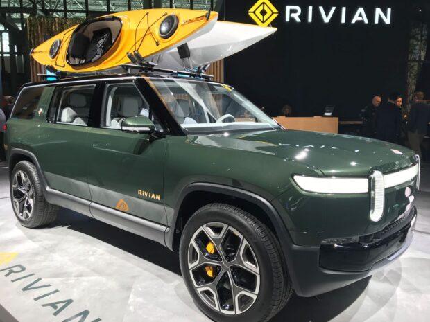 Rivian, R1T pick-up ve elektrikli SUV R1S için Pirelli Scorpion'u seçti