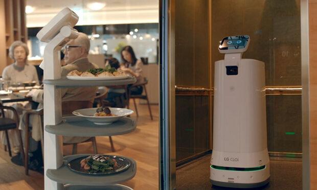 LG'nin devrim yaratan CLOi robot ailesi hizmete başladı!