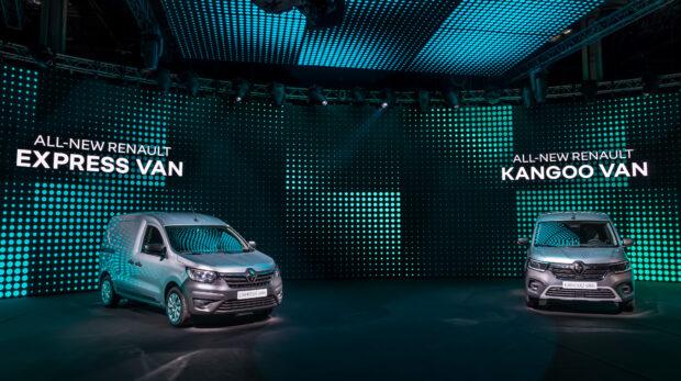 Yeni Express Van, Yeni Kangoo Van, Yeni Trafic ve Yeni SpaceClass